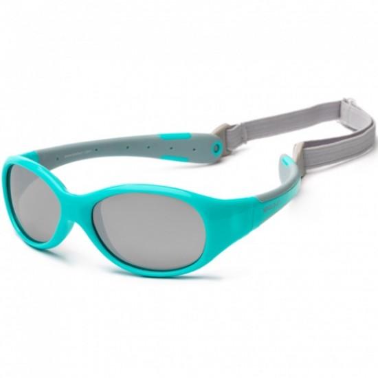 Flex - Aqua Grey - Ochelari de soare pentru copii