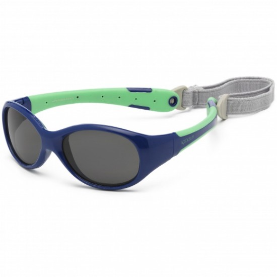 Flex - Navy Green - Ochelari de soare pentru copii