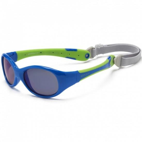 Flex - Blue Lime - Ochelari de soare pentru copii