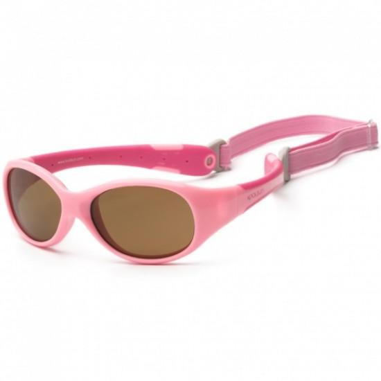 Ochelari de soare pentru copii -  Koolsun Flex - Pink Hot Pink