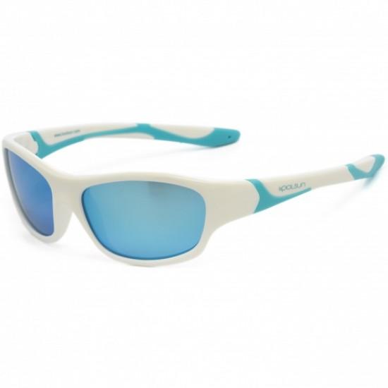 Sport - White Ice Blue - Ochelari de soare pentru copii -  Koolsun