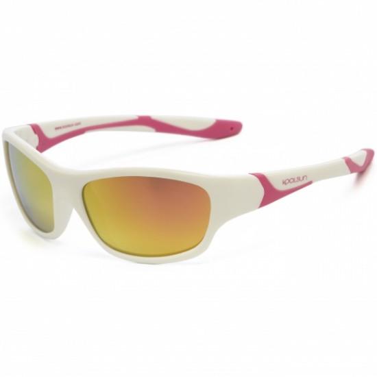 Sport - White Hot Pink - Ochelari de soare pentru copii