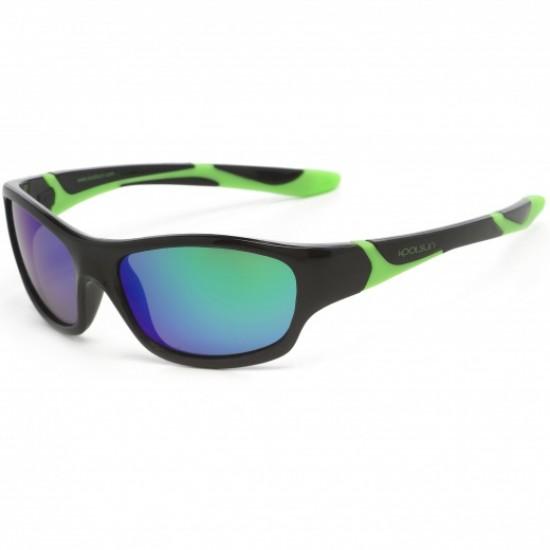 Sport - Black Lime - Ochelari de soare pentru copii