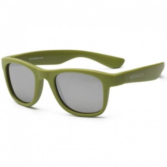 Ochelari de soare pentru copii - Koolsun Wave - Army Green