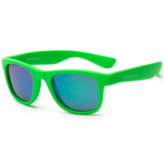 Ochelari de soare pentru copii - Koolsun Wave - Neon Green
