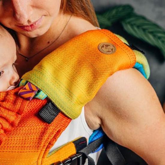 Protectii bretele Rainbow Baby Lenny Lamb