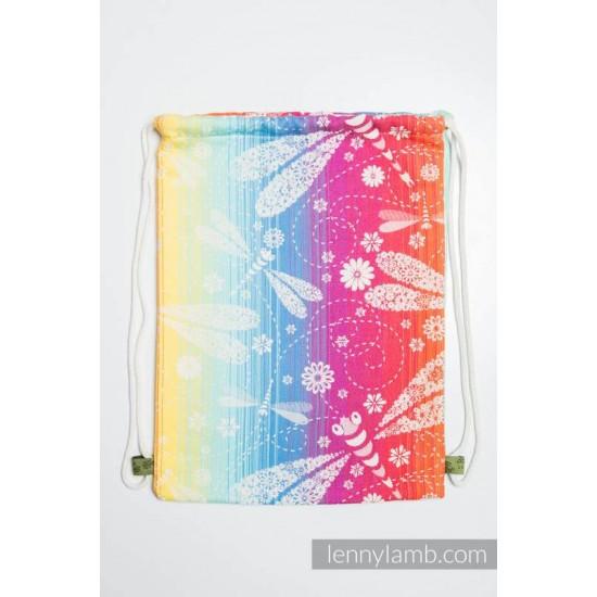 Rucsac tip saculet - Lenny Lamb - Dragonfly Rainbow