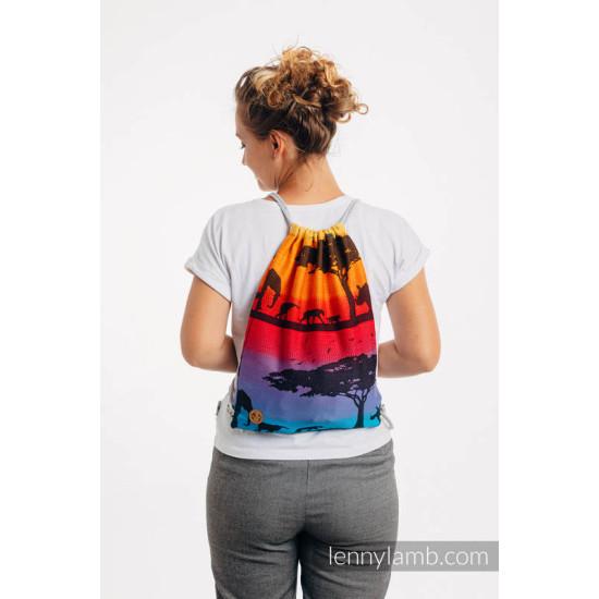 Rucsac tip saculet - Lenny Lamb - Rainbow Safari