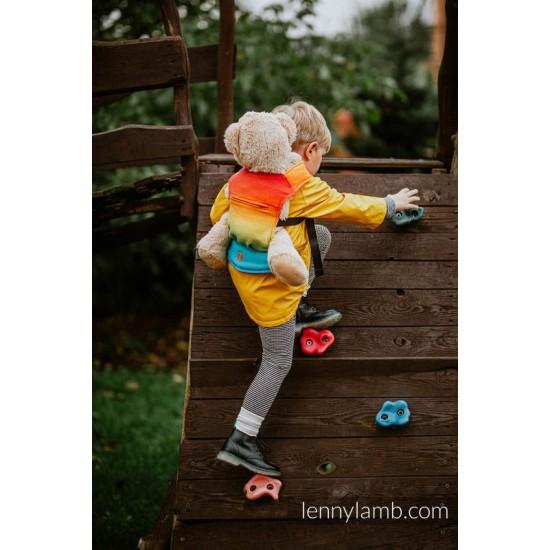 Marsupiu wrap conversion jucarie - Lenny Lamb - Rainbow Baby