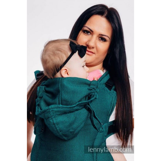 Marsupiu LennyGo Toddler - Basic Line Emerald