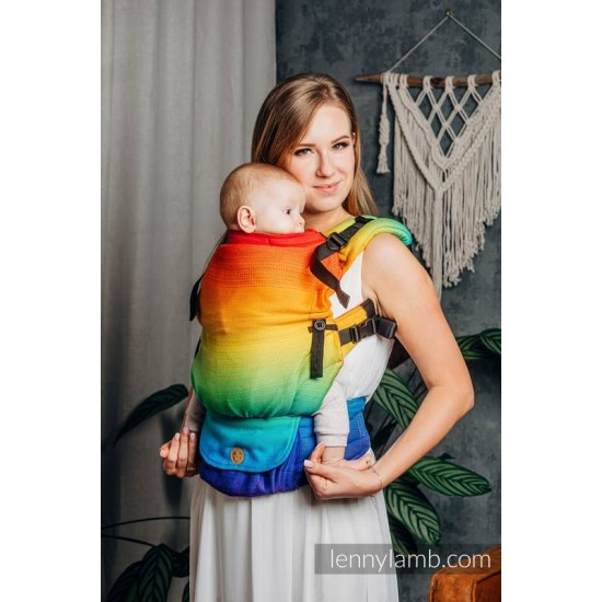 LennyUpGrade Carrier - Rainbow Baby