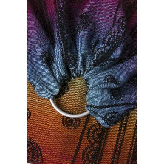 Sling cu inele - Jacquard Limited Edition - Lenny Lamb - Rainbow Lace Dark