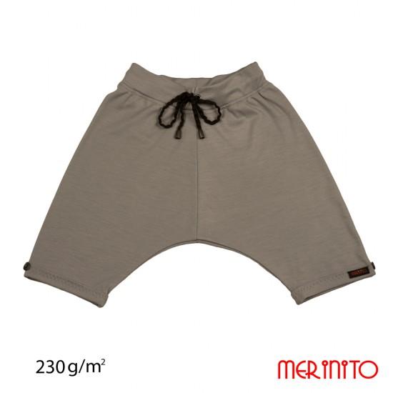 Baggy Pants lana merinos 230g/mp Merinito - Silver Gray