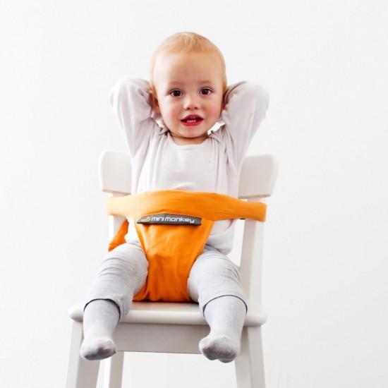 Mini Chair - suport compact pentru scaun - Minimonkey - Orange