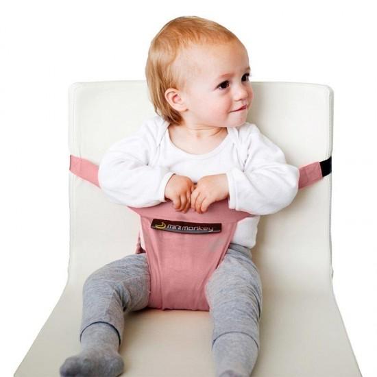Mini Chair - suport compact pentru scaun - Minimonkey - Pastel Pink
