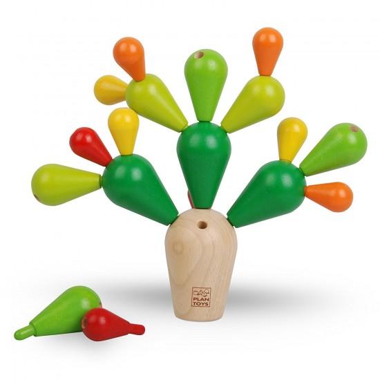 Cactusul instabil - Joc de indemanare Plan Toys