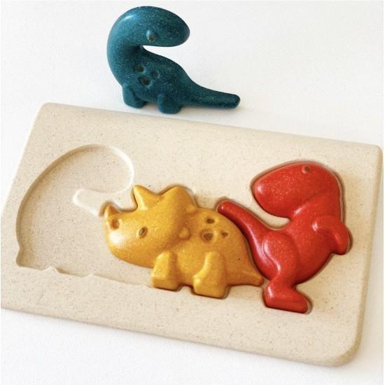 Dino - Puzzle din lemn