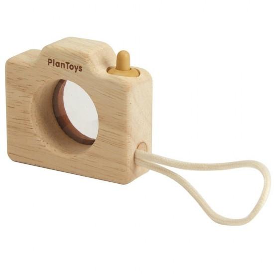 Mini camera foto din lemn Plan Toys