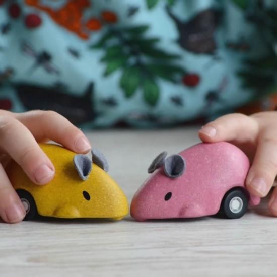 Soricelul plimbaret Roz Plan Toys