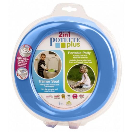 Olita portabila Potette Plus albastra