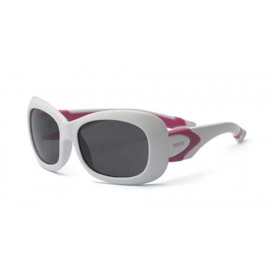 Ochelari de soare Real Shades Breeze P2 - White&Pink Polarized