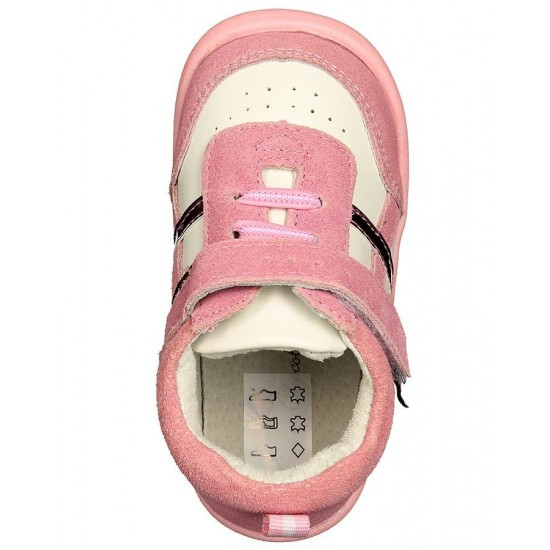 Rose et Chocolat - Suede Pink Trainers