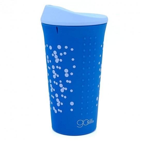 Cana multifunctionala din silicon cu capac - GoSili - Confetti