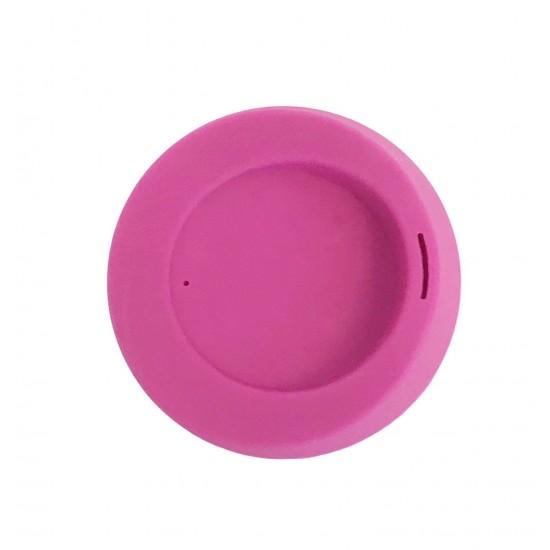 Capac din silicon pentru cafea/ceai Silikids - Hot Pink