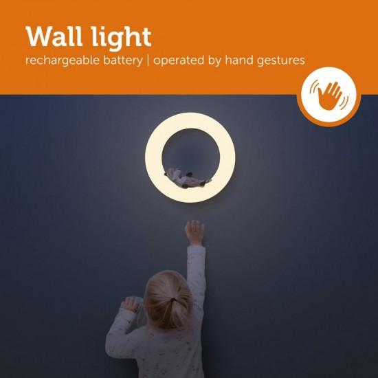 Lampa de veghe pentru perete cu intensitate reglabila si 3 jucarii magnetice ZAZU - FAY, REX si OTIS