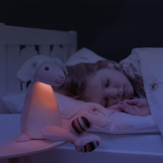Lampa de veghe ZAZU - FIN Pink