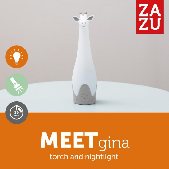 Lampa de veghe cu lanterna ZAZU - GINA Pink