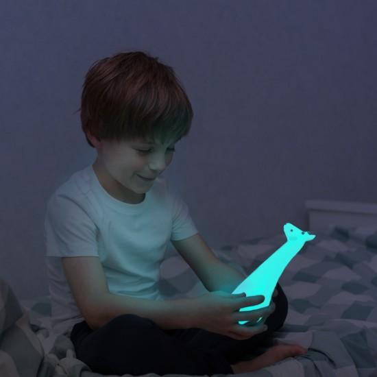 Lampa de veghe cu lanterna ZAZU - GINA Blue