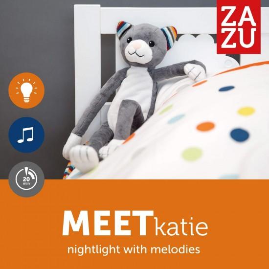 Amic muzical luminos pentru somn ZAZU - KATIE