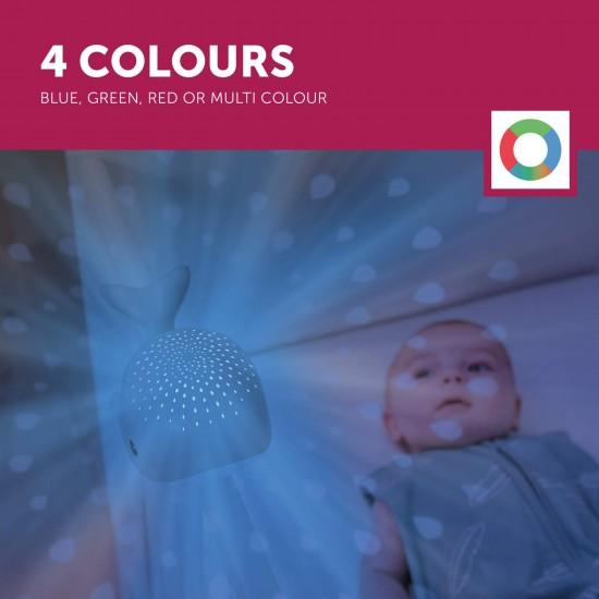 Lampa de veghe ZAZU - WALLY Blue