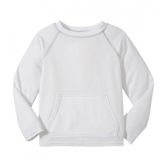 Bluza tehnica White SPF50+ Breatheasy Stay Cool