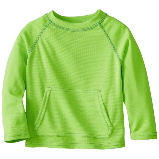 Bluza tehnica filtru UV 50+ Breatheasy Stay Cool - Green Sprouts by iPlay - Lime