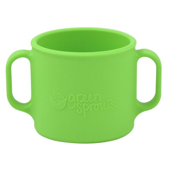 Cana de invatare - Learning Cup - Green Sprouts - Green