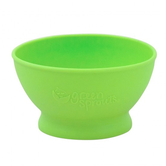 Bol de invatare - Learning Bowl - Green Sprouts - Green